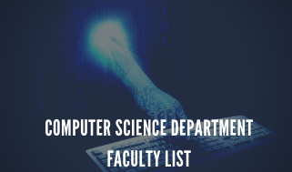 computer science DEPARTMENT FACULTY LIST