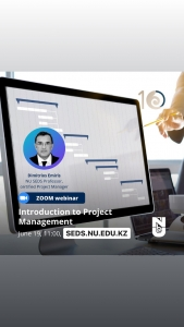 """Free webinar """"INTRO to Project Management"""" by certified Project Manager Dr. Dimitrios Emiris"""