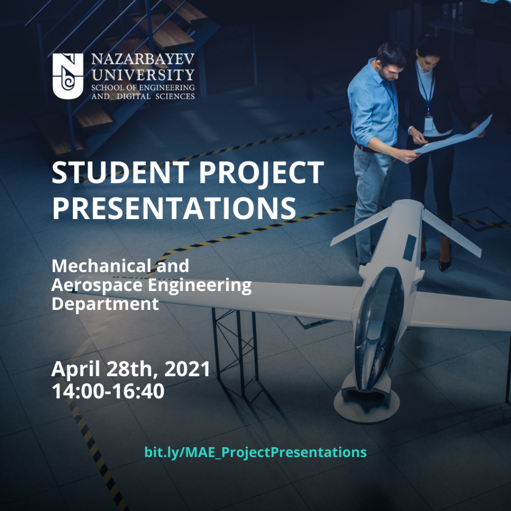 SEDS Industrial project presentations MAE