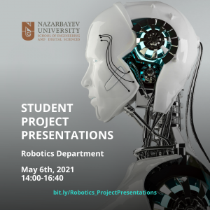 Robotics department Students Projects Presentations